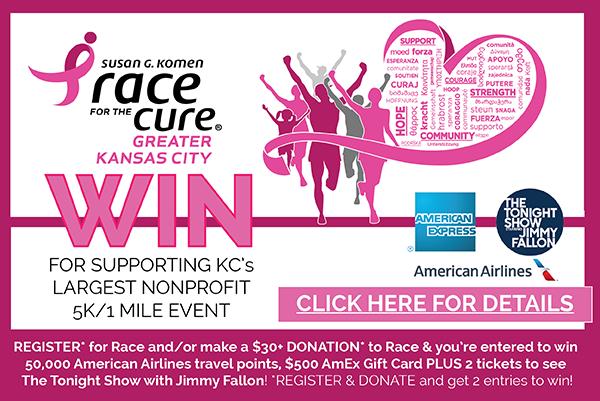 2016 Komen KC Race Contest - Fundraising 07-25 - Pop Up
