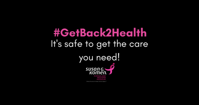 Mammography rates decline; Komen KSWMO Hosts #GetBack2Health Town Hall