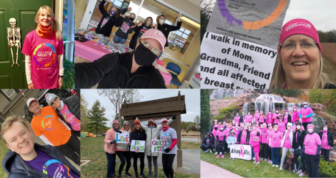 Thank You to our More Than Pink Walk Participants!